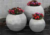 Вазон (цветочница) из бетона В-4