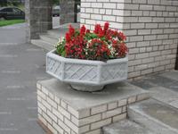 Вазон (цветочница) из бетона В-1