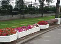 Вазон (цветочница) из бетона В-1, В-4