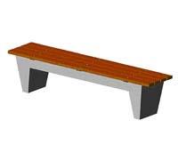 Скамейки уличные С-5,лавка, скамейка бетонная