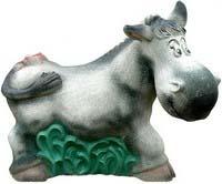 фигуры животных из бетона - Ослик