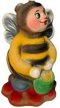 фигуры животных из бетона -  Пчела