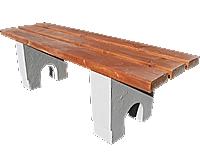 Скамейки уличные СК-2,лавка, скамейка бетонная