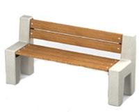 Скамейки уличные СК-8, лавка, скамейка бетонная