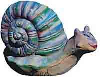 фигуры животных из бетона - Улитка