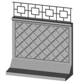 забор бетонный (железобетонный)
